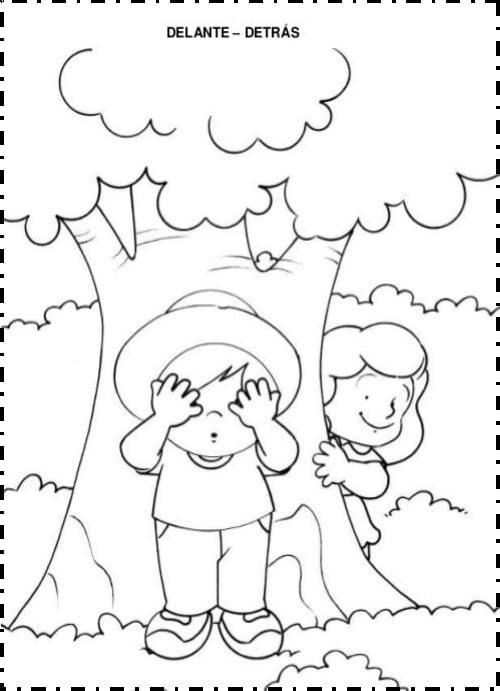 Las Relaciones Espaciales. Ciencia en el nivel de Preescolar