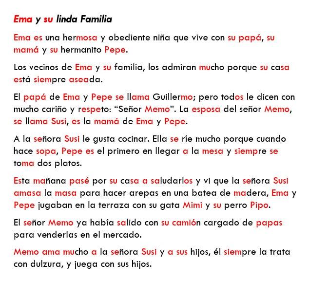 ENSEÑANZA DE FONEMAS M,P,S
