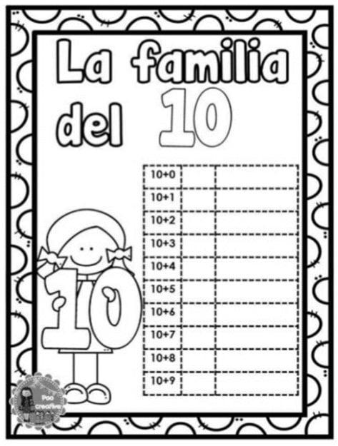 La Decena, el número 10 y la familia del 10